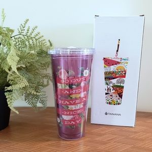 Tanana NEW Double Wall Cold Drink Tumbler 22oz